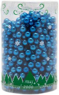 Бусы новогодние Маг2000 10 х 8 мм Синие (890087) (5102682890087)