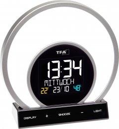 Настольные часы-светильник TFA 60202601 Soluna