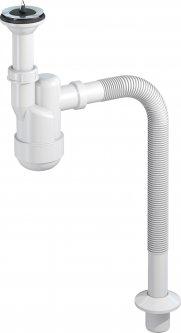Сифон для раковины PREVEX Ventloc с сухим затвором с гофрой 32/40 мм (3035001)