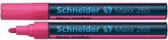 Набор маркеров меловых Schneider Maxx 265 2-3 мм Розовый 10 шт (S126509)