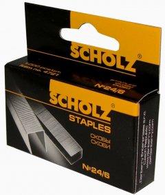 Набор скоб Scholz №24/6 10 упаковок по 1000 штук (4721/18591662472100)