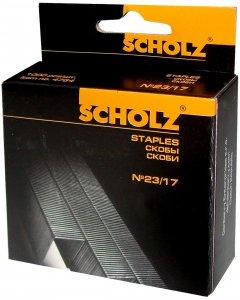 Набор скоб Scholz №23/17 10 упаковок по 1000 штук (4764/18591662476405)