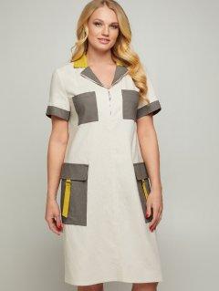 Платье All Posa Аланья 100050 54 Молочное