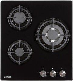 Варочная поверхность газовая VENTOLUX HG430-G1G CEST (BK)