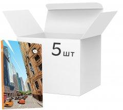 Упаковка блокнотов 4Profi Streets note А5 микс из линовки 80 листов Orange 5 шт (901494)