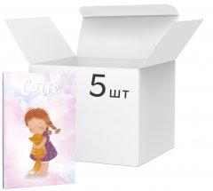 Упаковка блокнотов 4Profi Profiplan Curly B6 в точку 64 листа Four 5 шт (901845)