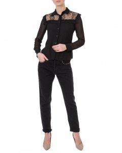 Джинси жіночі MISS MISS (0040378004/8-91) L Чорний