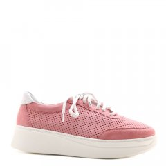 Туфлі з перфорацією Prego 20673 колір малиновий розмір 38 (T. GU МЛС/20/G143-209/38/Z)
