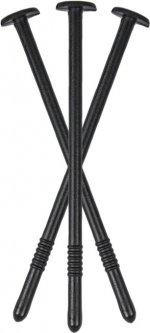 Шпилька прямая для агроткани Bradas 12 см 100 шт Черная (ATS12/100)