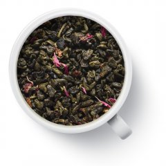 Чай зеленый с добавками One More Cup Земляника со сливками рассыпной 50 г (10107)