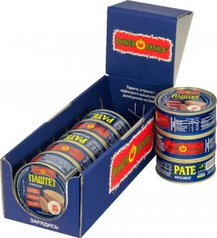 Упаковка паштета PowerBANKa с мясом 100 г х 8 шт (46110541)