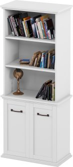 Шкаф Aqua Rodos Bianca для книг (BIARB2D3P-80-WHITE-MATT)