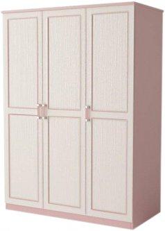 Шкаф Aqua Rodos Voyage 128 для одежды Розовый (АР000032035)