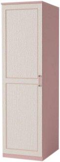 Шкаф Aqua Rodos Voyage 50 для одежды Розовый (VG-RB3S-50-ROSA)