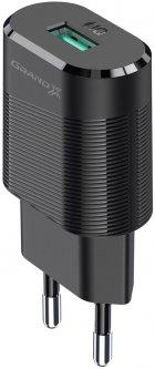 Зарядное устройство Grand-X CH-17 USB 5 В 2.1 A с защитой от перегрузки