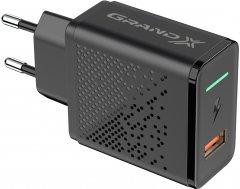 Зарядное устройство Grand-X Fast Charge 3-в-1 Quick Charge 3.0, FCP, AFC 18 Вт CH-650