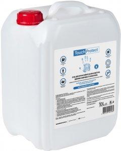 Антисептик гель для дезинфекции рук, тела и поверхностей Touch Protect 10 л (4823109401082)