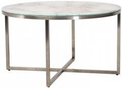 Журнальный столик Vetro Mebel С-181 Белый мрамор (С-181-wht marble)