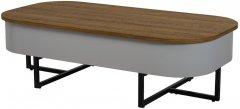 Журнальный столик Vetro Mebel СT-15 Орех (СT-15 -walnut)