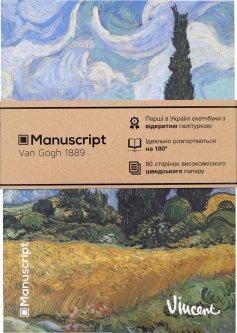 Скетчбук Manuscript Van Gogh 1889 A5 Чистые 80 страниц с открытым переплетом (M - VG1889)