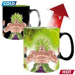 Чашка хамелеон ABYstyle Dragon Ball Gogeta & Broly (Жемчуг дракона) 460 мл (ABYMUG716)