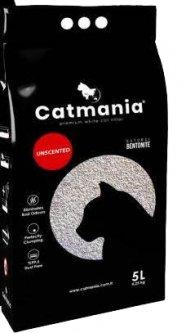 Наполнитель для кошачьего туалета Catmania натуральный белый Бентонитовый комкующий 5л (8682162004106)