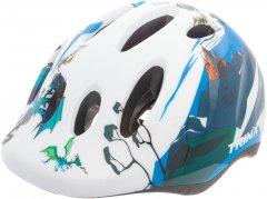Велосипедный шлем TRINX TT13 animal 44-48 см White (TT13.animal.W)
