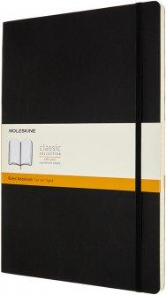 Записная книга Moleskine Classic 21 x 29.7 см в линейку Черная мягкая обложка (8053853602855)