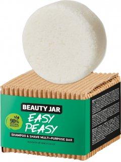 Твердый шампунь-средство для бритья Beauty Jar Easy Peasy 60 г (4751030831909)