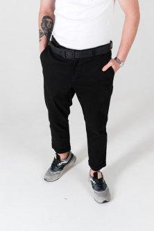 Чоловічі штани Morning Star Chino M чорні S3050010