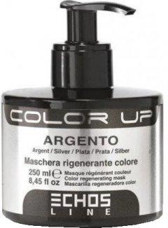 Тонирующая маска для волос Echosline Color Up Серебристая 250 мл (8033210294695)