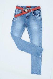 Джинси жіночі RED SOLD Слім W27 Синій Арт 1770