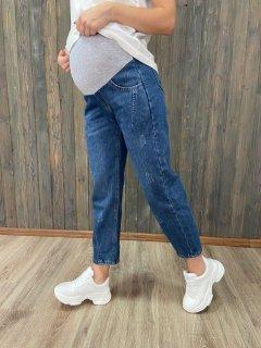 Джинси для вагітних WOW MOM утеплені XXXXL Blue (1_0287_Bl_4XL)