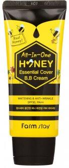 Универсальный медовый BB крем FarmStay All-In-One Honey Essential Cover BB Cream 50 г (8809624728299)