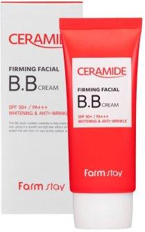 Укрепляющий BB-крем для лица FarmStay Ceramide Firming Facial B.B Cream с керамидами SPF 50 50 г (8809426959006)