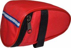 Велосипедная сумка подседельная Poputchik усиленная 15х9х9 см Красная (MFV63313-005)