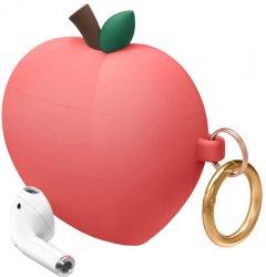 Чехол Elago Peach Hang Case для AirPods Red (EAP-PEACH-RD)