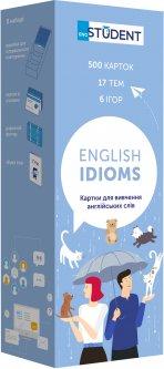 Карточки для изучения английского English Student English Idioms (9786177702312)