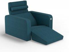 Мягкое кресло Kulik System PLEASURE Джинсовый (PLEASURE_6115_MF_MC_0511)