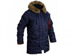 Куртка Аляска Slim Fit N-3B Navy (M)