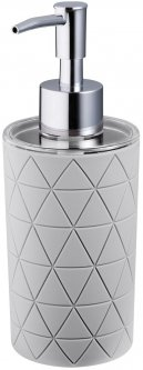 Дозатор для жидкого мыла BISK Star 07530 200 мл серый