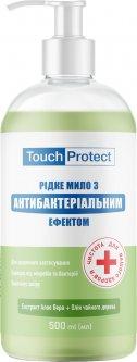 Жидкое мыло Touch Protect Алое вера-Чайное дерево с антибактериальным эффектом 500 мл (4823109401464)