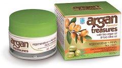 Аргановый регенерирующий с фруктовыми кислотами Pharmaid Ar гan Treasures Re гenerative+AHA Face Cream 50 мл (5200344974110)