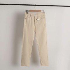 Джинси жіночі Slim Fit Beige Berni Fashion (L) Бежевий (54496)