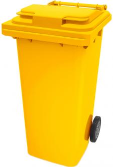 Мусорный контейнер Iplast 240 л Желтый (21.052.20)