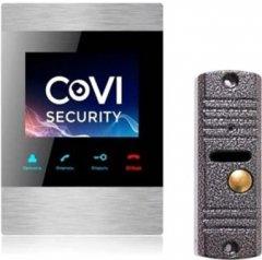 Комплект видеодомофона CoVi Security HD-06M-S + V-60 Silver (00285531)