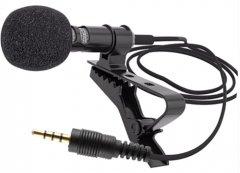 Микрофон XoKo MC-100 + сплитер 3.5 мм (XK-MC100BK)