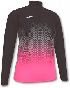 Спортивная кофта Joma Elite VII 901031.118 M Черная с белым и розовым (9999105946072)