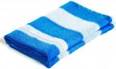 Сетка затеняющая Karatzis 65% 4x5 м Бело-голубая (5203458763472)