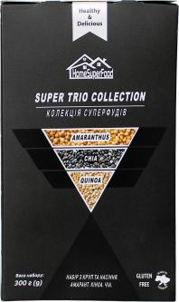 Набор круп и семян Healthy Generation Super Trio Collection Home Super Food 300 г (4820219570219)